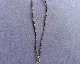 Burma Jade Cross Pendant