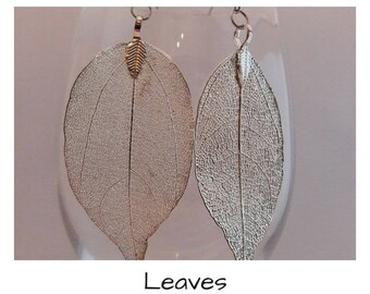 """LEAVES"" earrings"