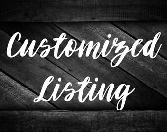 Customized Listing - Linda