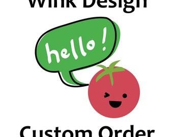 Custom Order for Clare