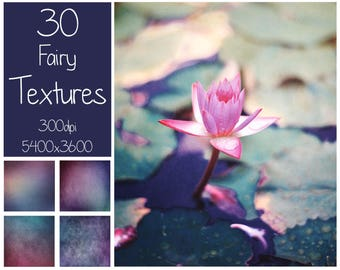 30 Fairy Textures - Photoshop Overlay - Fine Art Textures - Magic Color - Digital Background - Photography Overlay - Fairy Overlays - Purple