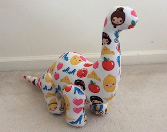 Designer Dinosaurs - Brilliant Brontosaurus - Princess Emojis