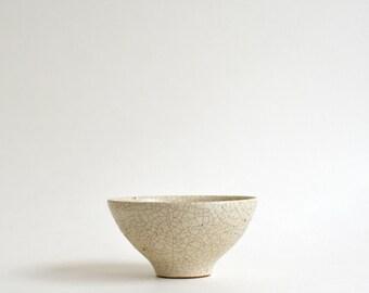 Kannyu Chawan S - penetrated rice bowl ; Fumika Miyake (13003121-S)