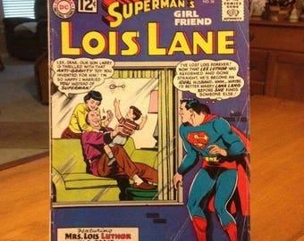 DC Comic Superman's Girl Friend Lois Lane / July 1962 No. 34