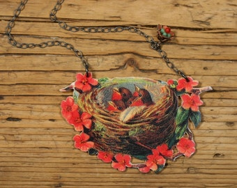 Bird Nest Necklace