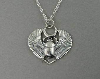 Egyptian Jewelry, Scarab Necklace, scarab beetle jewelry, egyptian, egypt, cleopatra, gothic, scarab pendant, egyptian necklace