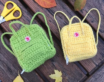 Kånken Backpack Crochet Pattern
