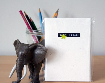 MATURE CONTENT - Ideas Notebook - Elephant Dung Paper Notebook - Cheeky Gift