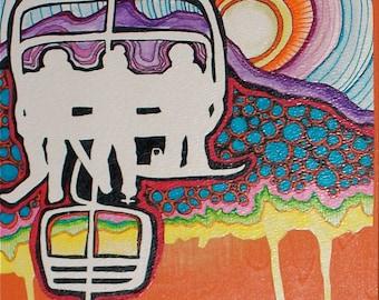 Art Card - Bold Uplifting Exchange by Aimee Babneau