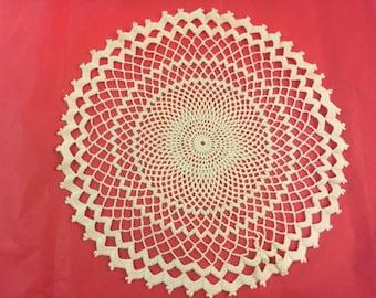 13 in. crochet round