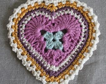 Handmade Heart Decoration, Coaster