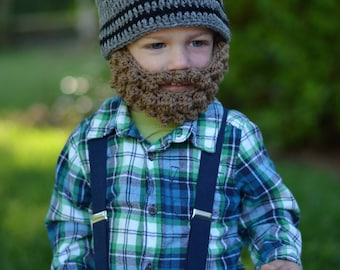 Lumberjack First Birthday Hat and Beard - Lumberjack Birthday - Lumberjack Beard - Lumberjack Beanie Hat - Lumberjack 1st Birthday