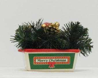 Christmas Floral Arrangement, Small Arrangement, Christmas Decoration, Christmas Floral, Fireplace Mantel, Floral Arrangement, Hall Decor