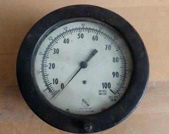 Ashcroft Steam Engine Pressure Gauge