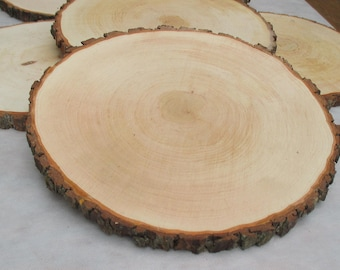 "12""-13"",Large Alder Wood Slice 12-13 inch,wood slice,wood slab,wood coaster,wood platter,Rustic Wedding Decor,Cake Stand,Wedding Centerpiece"