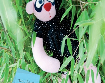 LouLou the Panda Toy Sewing Pattern Download (1017675)