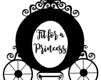 Fit for a Princess SVG