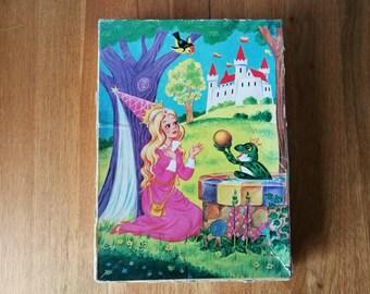 Tom bag wooden Children's puzzle