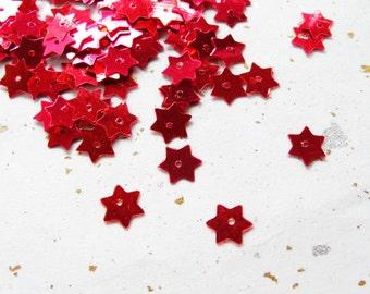 Vintage Star Sequins  16.5 gram circa 1500pc