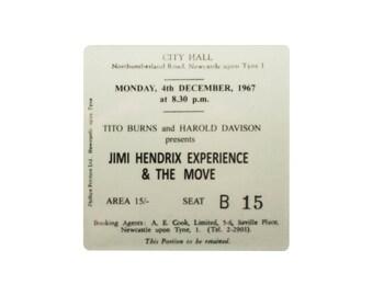 Coaster. Jimi Hendrix. Newcastle City Hall. Newcastle