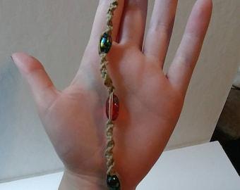 Hemp key chain