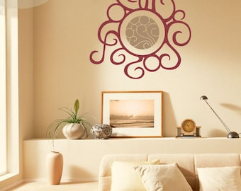 Warmth - Abstract Sun - Vinyl Wall Decal