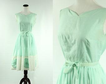 50s Seafoam Dream Dress
