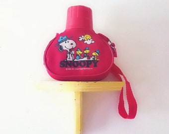 Vintage 1965 Snoopy Water Canister