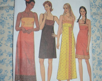 New Look 6862  Misses Dress Sewing Pattern - UNCUT - Size 6 - 16