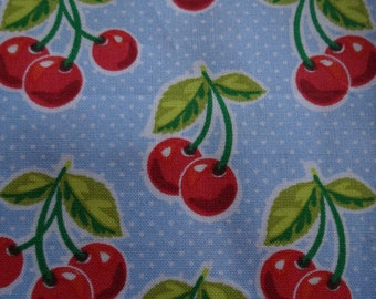 VINTAGE CHERRIES BANDANA (Available in 4 colors)