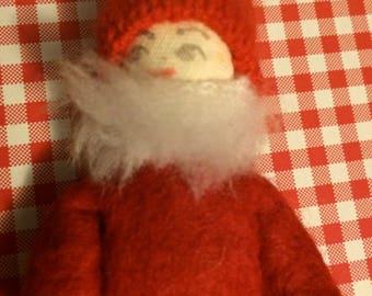 Small Elf,Swedish Elf,Christmas Elf,Elf Figurine,Xmas Elf,Elf Toy,Elf Doll,Fabric Elf,Red Elf,Tiny Elf,Holiday Elf,Elf Figure,Christmas Doll
