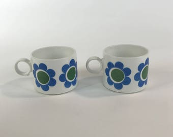 Swedish vintage coffee cups from the 60s