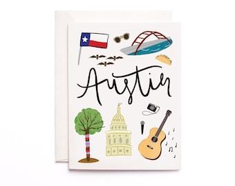 Texas greeting card etsy austin texas greeting card city greeting m4hsunfo