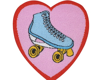 Cactus and Roller Skate Mini Patch Pack