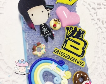 CLEARANCE SALE: iPhone 6S/6 Phone Case - Ready to Ship - Kpop G-Dragon Kwon Ji-yong Korean Singer Big Bang Decoden Phone Case