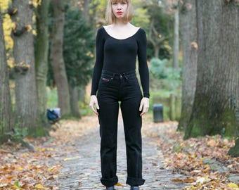 Black Vintage Kamacho jeans high waist