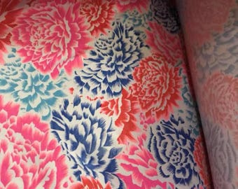 lycra cotton / knit cotton fabric inspired bonds design (Tokyo Bloom)
