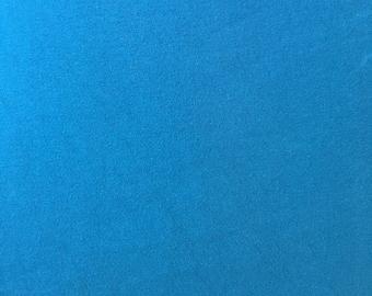 Dark Teal Blue Cotton Lycra