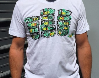 Crab Pots tee (White, Retired)