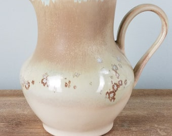 pottery pitcher, ceramic pitcher, wheel thrown, handmade, gifts for her, wedding, birthday, engagement, unique, elegant, one of a kind