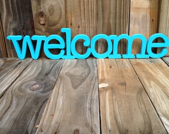 Wooden welcome sign, wall hanging,home decor, wall decor