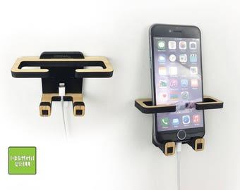 Phone Wall Holder NO SCREWS needed