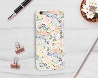 Birthday Gift, Flower Phone Case, Phone Case, Floral Phone Cover, Plastic Phone Case, Phone Cover, Floral Stationery, Designer Phone Case