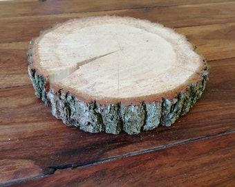 Wood disc wedding Decoration oak tree