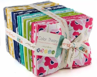 Color Theory Fat Quarter Bundle by Moda