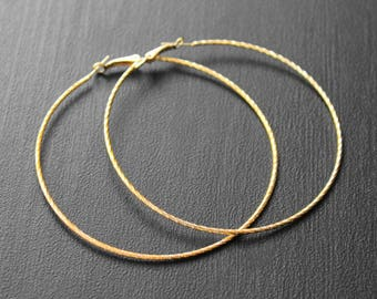Big Gold Hoops, Big Hoops, Large Hoop Earrings, Electroplated, Jumbo Hoop Earrings, Hoop Earrings, Ayo African Woman Big Hoop Earrings