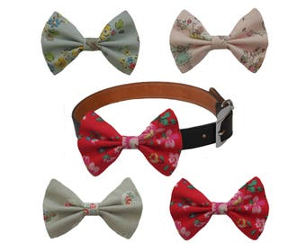 Cath Kidston Fabric Designer Dog Bow Tie