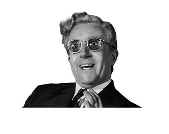 Dr Strangelove Peter Sellers Movie T-Shirt. Classic Sixties Comedy Vintage Kubrick Film Tee How I Learned to Stop Worrying and Love the Bomb