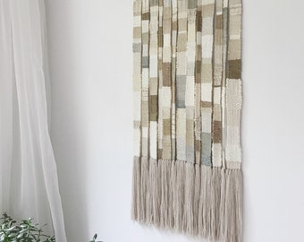 storylines - handwoven wallhanging | fiber art weaving