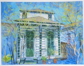 """Royal St., Bywater, New Orleans, PRINT, 11"""" x 14"""", signed, open edition"""